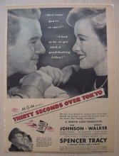 Thirty Seconds Over Tokyo (1945) - Spencer Tracy - Vintage Trade Ad